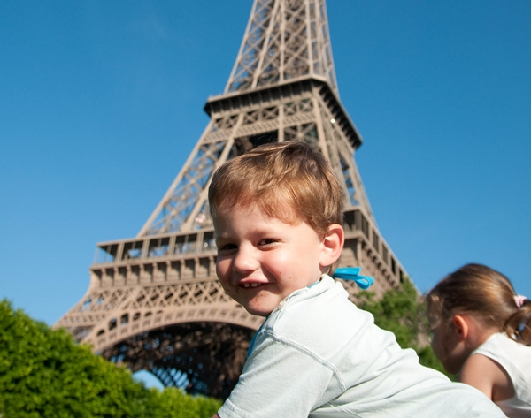 Eiffel Tower, Paris with Kids