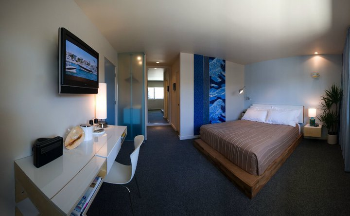 A room at The Pearl, San Diego