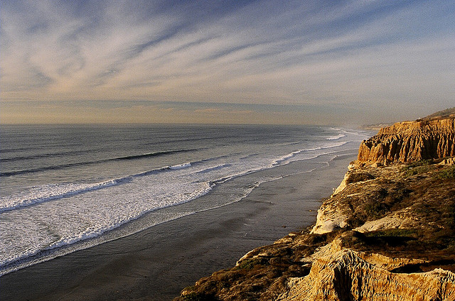 Great views at Torrey Pines State Reserve, San Diego