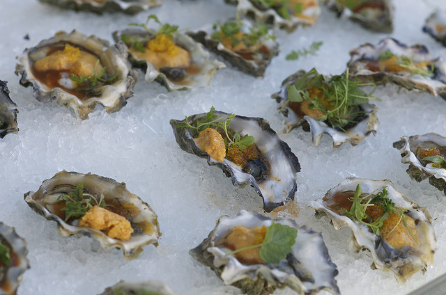 Fabulous oysters at The San Diego Bay Wine and Food Festival