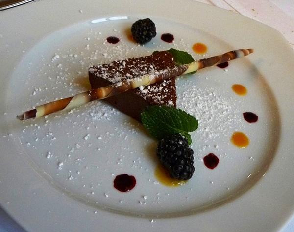 Dessert at Weibels Wirtshaus, Vienna
