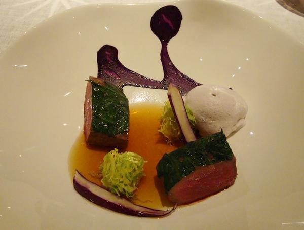 Dinner at Restaurant Steirereck, Vienna