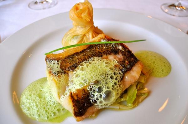 Dinner at Ciel Restaurant, Grand Hotel Wien, Vienna