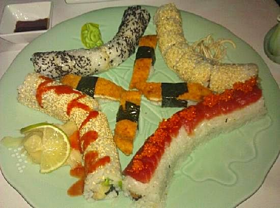 Sushi at Dots Lounge, Vienna