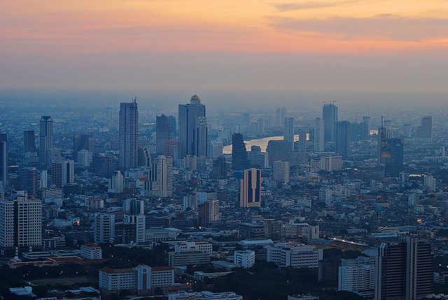 The vast expanse that is Bangkok