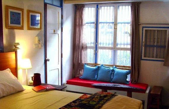 A room at Samsen 5 Lodge, Bangkok