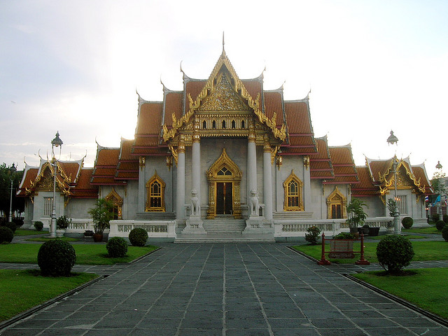 The Marble Temple, Bangkok