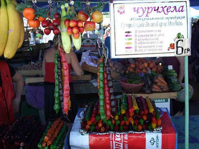 Traditional snacks, Evpatoria