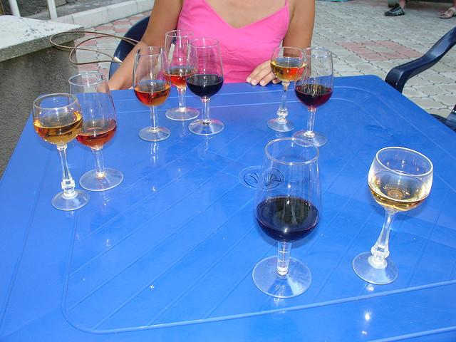 Tasting Crimean wine, Evpatoria