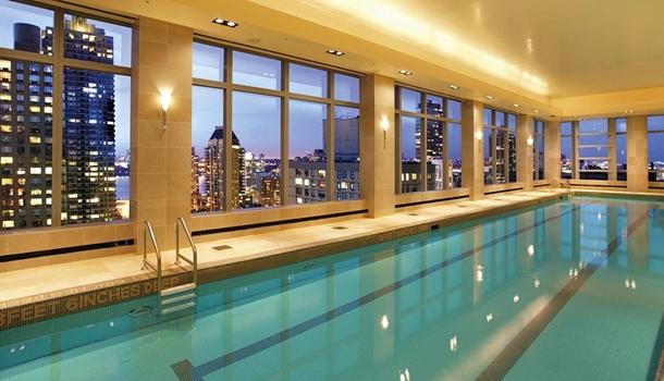 Kid Friendly Indoor Swiming Pool Hotel Nyc
