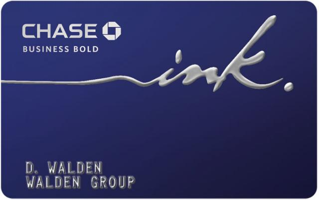 Chase Ink Bold Business Credit Card Review-50000 Bonus Ultimate Rewards Points