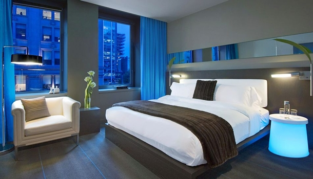 Where to stay in montreal the best modern luxury and for W hotel bedroom designs