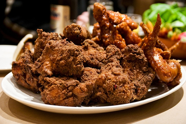 Momofuku Noodle Bar-NYC Restaurant Review-Fried Chicken