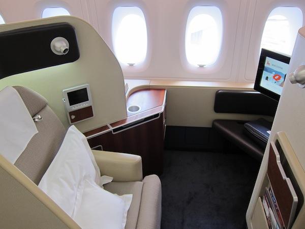 10 Best International First Class Seats For Award Travel