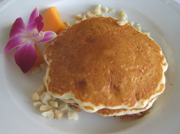 Best Pancakes in Honolulu, Orchids Halekulani