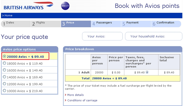 50% AMEX Transfer Bonus to British Airways Avios-Best Deals