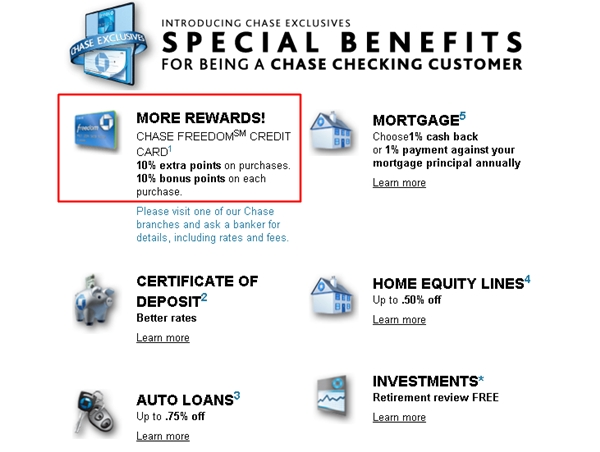 Chase Exclusives Bonuses: Maximize Chase Freedom Ultimate Rewards Points
