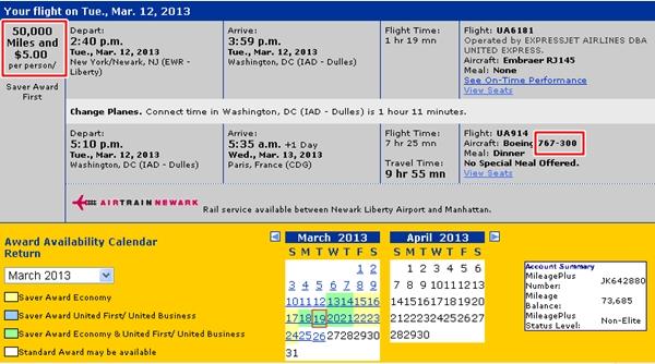Tips for Booking Award Flights to Paris