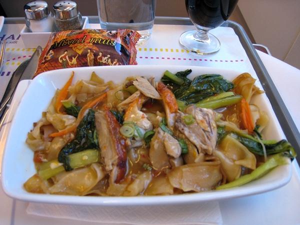Thai airways business class review travelsort for Air thai cuisine