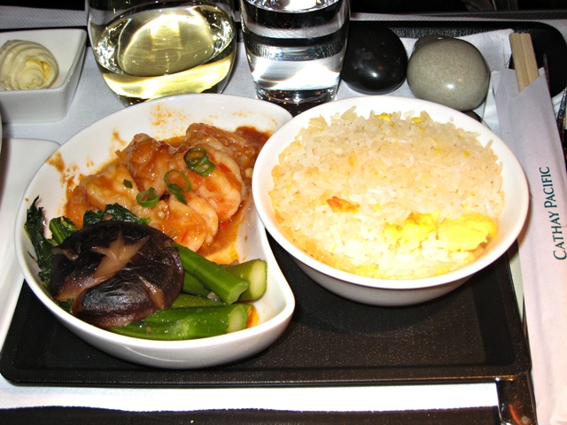 Cathay Pacific Business Class Review 777-300ER
