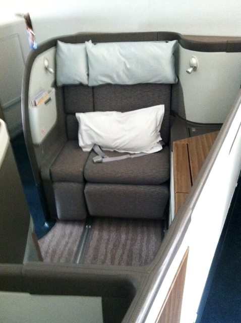 Cathay Pacific First Class Suite