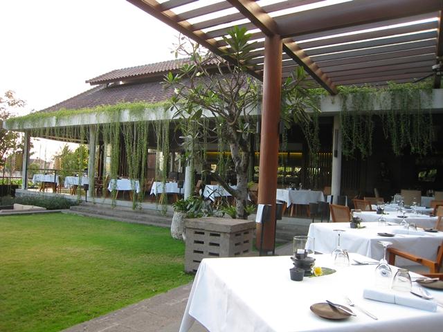 Metis Bali Restaurant Review - Dining area