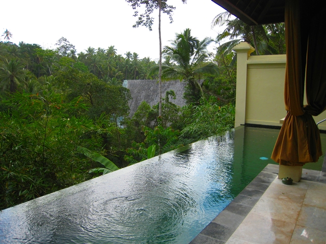Komaneka at Bisma Hotel Review - Infinity Pool