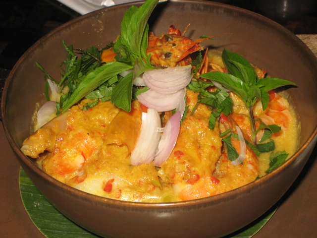 Amankila Review - Balinese Seafood Curry