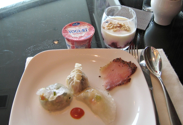 Langham Place Mongkok Review - Club Lounge Breakfast