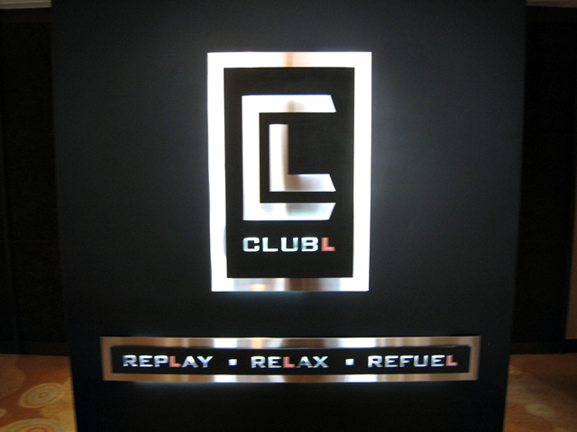 Langham Place Mongkok Review - Club Lounge Sign