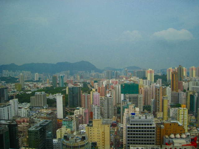 Langham Place Mongkok Hong Kong Review - View from Club Level