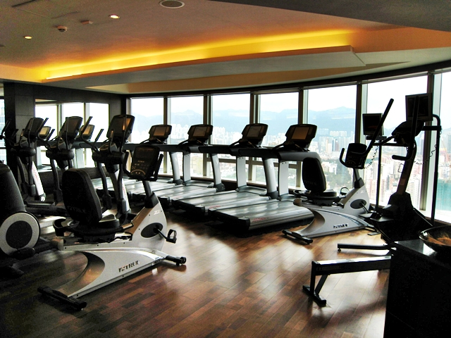 Langham Place Mongkok Review - Fitness Center