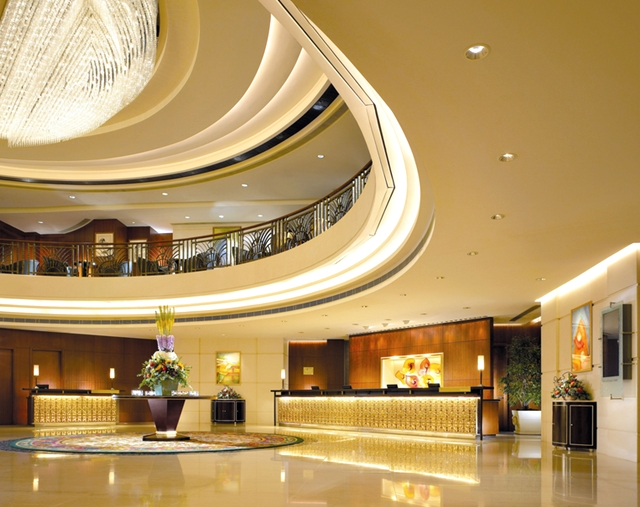 Langham Place Mongkok Review - Lobby