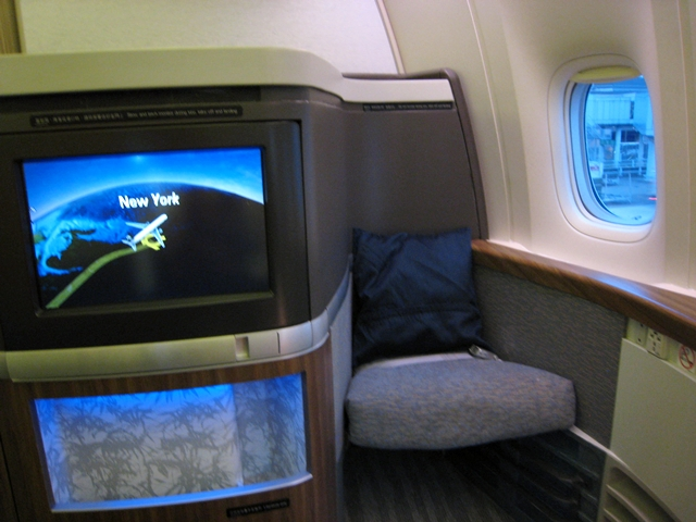 Cathay Pacific First Class Review: First Class Suite