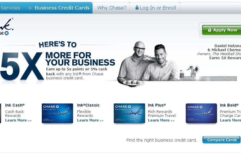 Ink Bold vs. Ink Plus vs. Ink Classic vs. Ink Cash: Which Business Card?