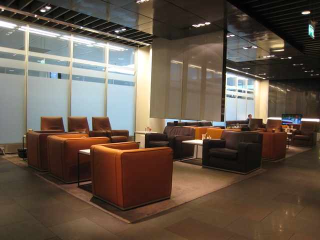 Review: Lufthansa Munich First Class Lounge - Seating