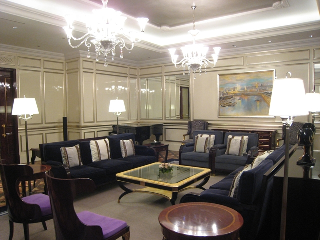 Lotte Hotel Moscow Review - Royal Suite Drawing Room