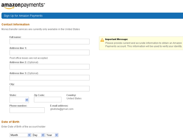 How to Sign Up for Amazon Payments to Meet Minimum Spend