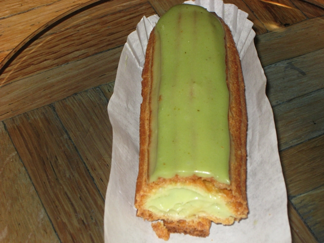 Maison Kayser Pistachio Eclair