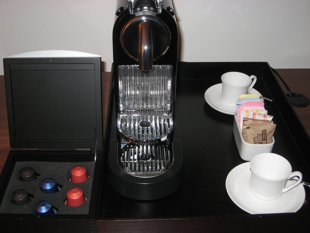 Setai Fifth Avenue NYC Hotel Review - Nespresso Machine