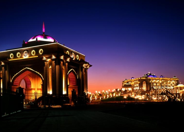 Best Abu Dhabi Luxury Hotels - Emirates Palace