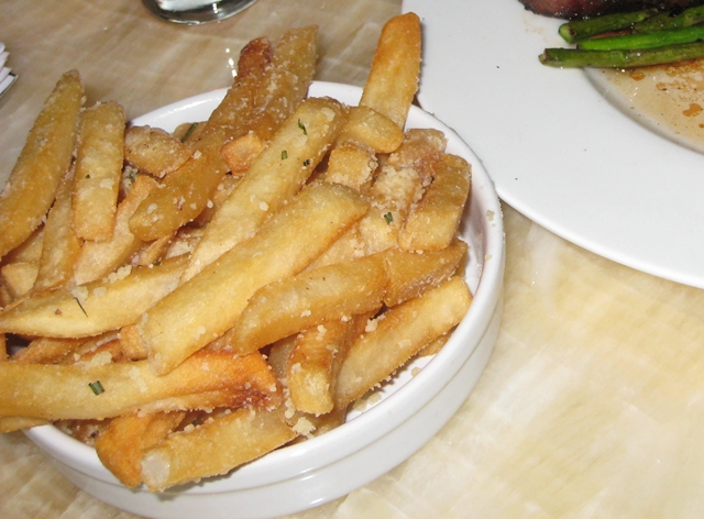 Bar on Fifth at The Setai: NYC Jazz Bar Review - Parmesan Fries
