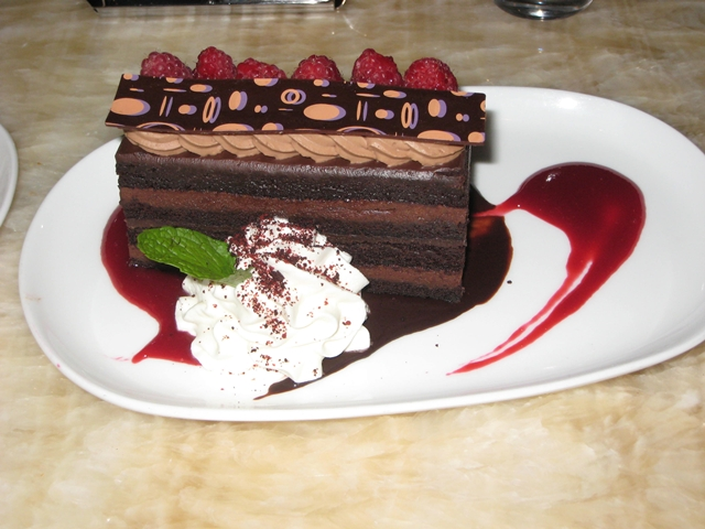 Bar on Fifth at The Setai: NYC Jazz Bar Review - Chocolate Cake
