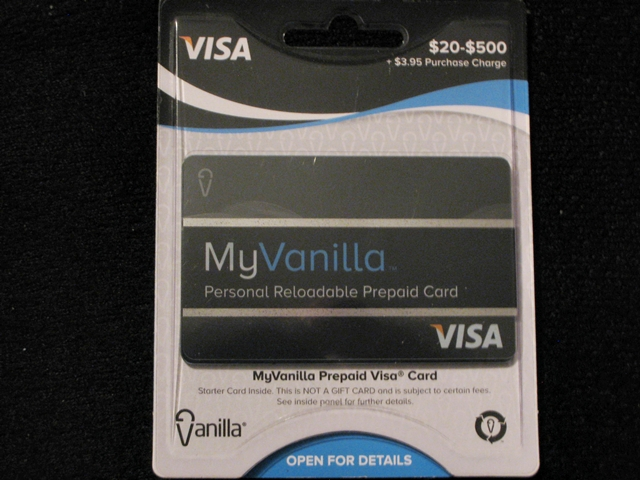 Debit Card Taxes - MyVanilla Debit Card