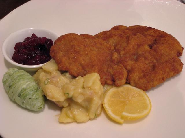 Seäsonal NYC Restaurant Review - Wiener Schnitzel