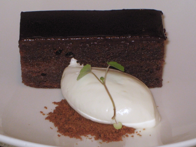Seasonal NYC Restaurant Review - Sacher Torte