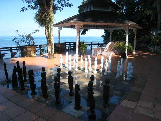 Couples Sans Souci Jamaica - Outdoor Chessboard and Gazebo