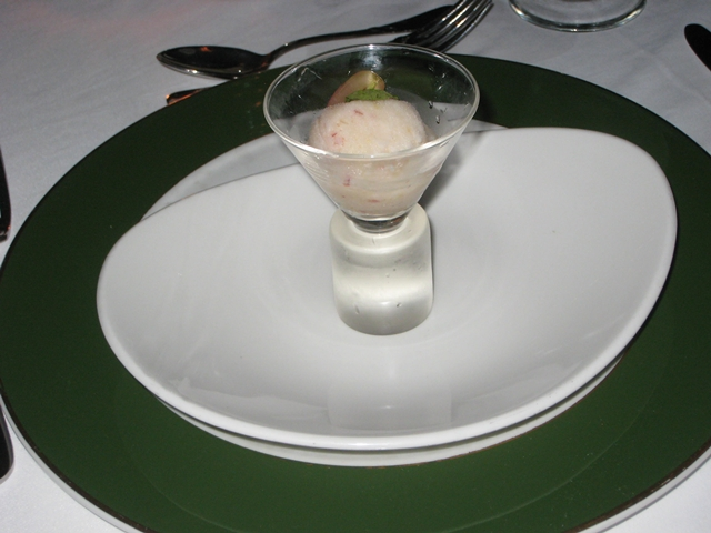 Eight Rivers Restaurant Review Couples Tower Isle Jamaica - Tropical Fruit Sorbet