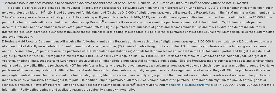 75000 bonus points for amex business gold rewards card returns 75000 bonus points for amex business gold rewards card colourmoves