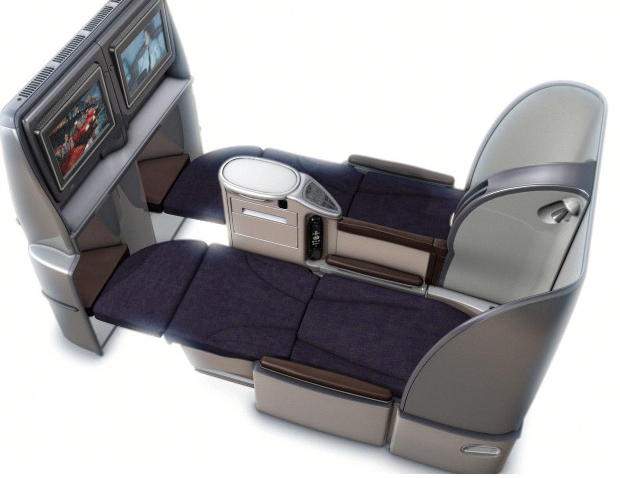 Bed Seats to Hawaii-United Business Class for 40K United Miles jpgUnited Airlines First Class 767